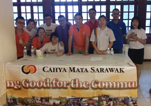 Raising Funds for Kuching Life Care Society
