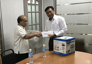 Cement Division gives back