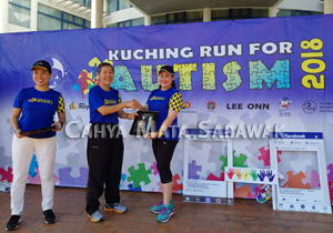 Running in aid of the Autistic Community