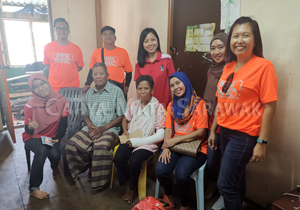 CMS Quarries distribute essentials to five families